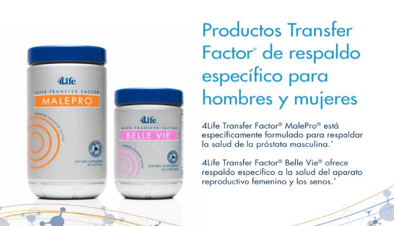 4Life Transfer Factor® MalePro e Belle Vie