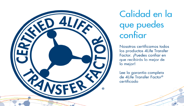 Transfer Factor Certificado